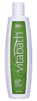 Vitabath Moisturizing Bath Shower Gel e, Original Spring Green – 16 oz