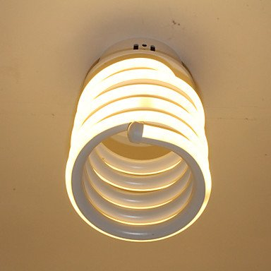 BAJIAN-LI Modern luxury Modern LED Ceiling Light Simple Aluminum Small Cap Lighting Corridor Lighting 110-120v by BAJIAN-LI