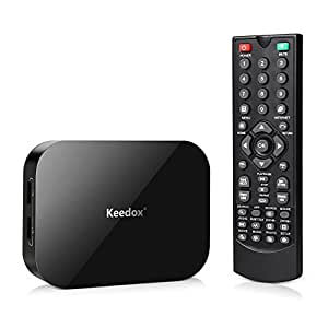 Keedox Dual Core Android 4.2 Smart TV Box XBMC/Kodi Media Player 1080P WIFI HDMI XBMC Netflix YOUTUBE Skype