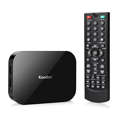 Keedox Dual Core Android 4.2 Smart TV Box XBMC/Kodi Media Player 1080P WIFI HDMI XBMC Netflix YOUTUBE Skype