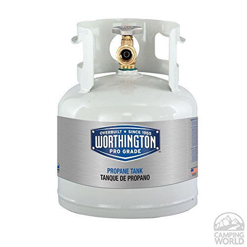 Refillable Steel Propane Cylinders-4.5 lb. / 1 gal. by Worthington Cylinders