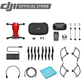 DJI Mavic Air Fly More Combo with DJI Care Refresh Portable Quadcopter Drone (Flame Red)