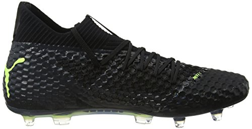 Yellow Chaussures Football Fg 18 ag Netfit fizzy De Puma puma 1 Future asphalt Black Noir Homme w8FqxY6