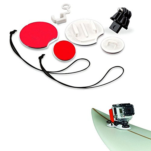 Baosity Camera Accessories For Go Pro Surf Expansion Kit Surfboard Mounts Sticker -