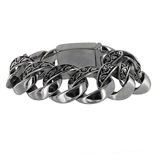 Bracelets 31mm Heavy Rock N Roll Chaîne gourmette bracelet