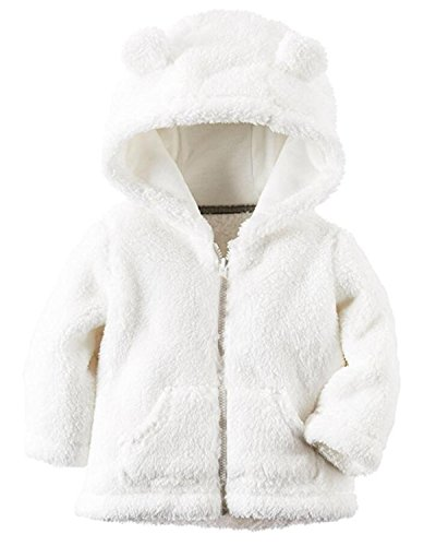 Infant Hooded Fleece Jacket - 7