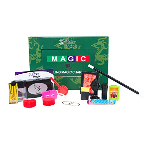 Ever Magic Set, 24 Magic Tricks To Master In Minutes, includes: Magic Tricks, Magician's Box and Tutorials