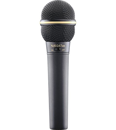 Electro-Voice N D267AS Dynamic Microphone with On Off Switch by Electro-Voice