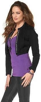 Melrose Passform Schwarz Jeansjacke Perfekte Durch R3jL5A4
