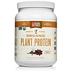 The best plant based protein powder in the market today! Natural Force ® Organic Plant Protein is an excellent source of protein suitable not only for vegans, people allergic to gluten, but for ANYONE who wants to put their health first. Organic Plan...