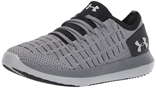 Under Armour Women's Slingride 2 Sneaker, Pitch Gray (106)/Black, 7 M US