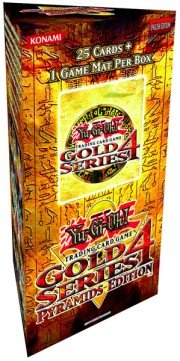 Yu-Gi-Oh Cards - 2011 GOLD Series 4 Pyramids Edition Pack (25 cards & 1 game mat per box)