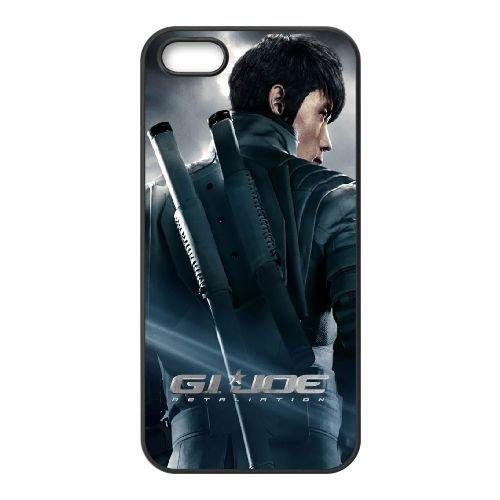Gi Joe Ii coque iPhone 4 4S cellulaire cas coque de téléphone cas téléphone cellulaire noir couvercle EEEXLKNBC25265