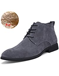 88aed6572a Men's Suede Chukka Boot Casual Lace Up Desert Boot Ankle Shoes Stylish  Fashion Fit Comfortable Leather