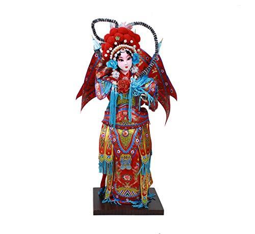 Heartrace The 12'' Peking Opera Performer Ancient Chinese Mu Guiying ()