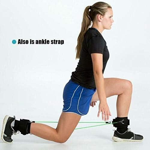 Aojuy 1 Paar Oberschenkel Gurt Neopren Gepolstert Fitness Beine Manschette St/ärke Training