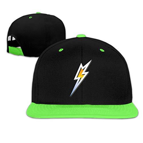 Silver Lightning Bolt Child Hip Hop Baseball Hats Boy Girl ()