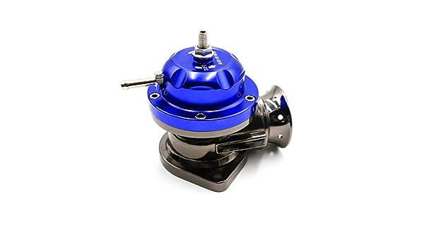GOZAR Tipo Universal-Rs Turbo Golpe De La Válvula Ajustable 25Psi Bov Soplado Volcado - Azul: Amazon.es: Hogar