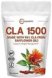 Best Cla Pills - Maximum Strength CLA Supplements (CLA Pills), 1500mg Per Review
