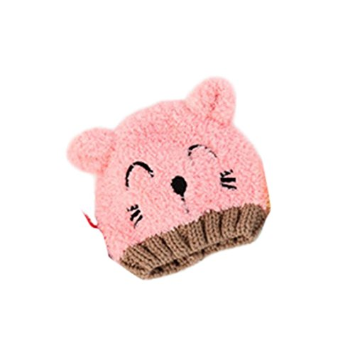 00c4005208e Goodtrade8 GOTD Baby Girls Boys Kids Toddler Knit Cap Warm Earflap Hat