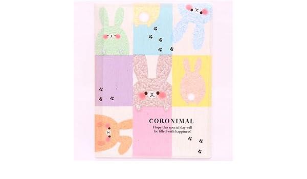 Carpeta de plástico A4/A3 kawaii conejo lana 10 fundas: Amazon.es: Juguetes y juegos
