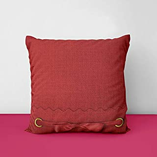 41iJ1OO 2lL. SS320 Red Designs Printed Square Cushion Cover