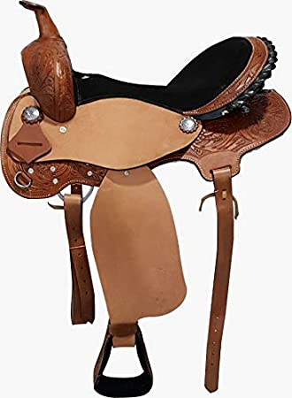 Size 14 to 19 Inches Open Store Australian Stock Genuine Leather Horse Saddle