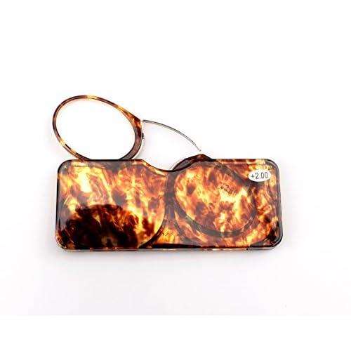 e77e8f8e8984 free shipping SOOLALA Go Everywhere SOS Pince Nez Style Nose Resting  Pinching Reading Glasses