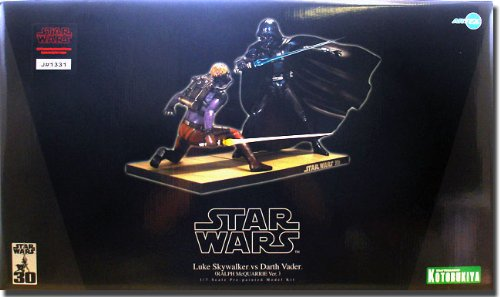 Ralph McQuarrie Luke Skywalker Vs Darth Vader 1 7 Statue 30cm