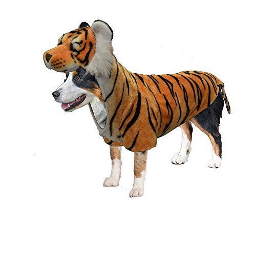 Amazing Pet Products 54935 Tiger Wannabe Dog Coat, Mini ()