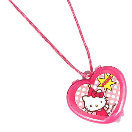 amscan Adorable Hello Kitty Lip Gloss Necklace Birthday Party Accessory Favor (1 Piece), 1 1/4