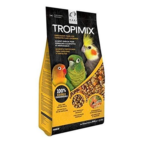 2X Hari Tropimix Lovebird/Cockatiel Mix 908g