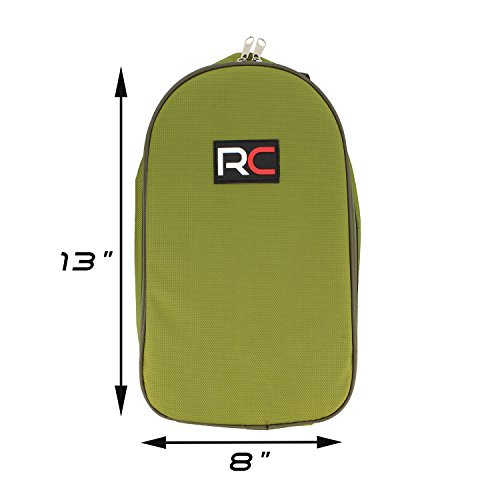 Camping Utensils Outdoor Cooking Camping Accessories 8-Piece Kitchen Travel Cookware Set in Compact Portable Green Bag