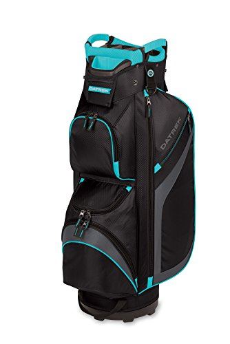 Datrek DG Lite II Cart Bag Black/Charcoal/Turquoise