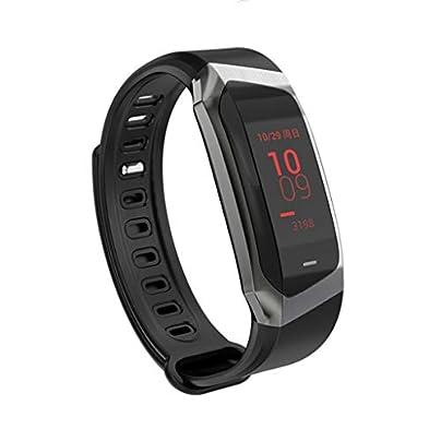 HFXLH IP67 Waterproof Blood Pressure Smart Bracelet Heart Rate Monitor Sport Fitness Bracelet Tracker Wristband Estimated Price £59.18 -