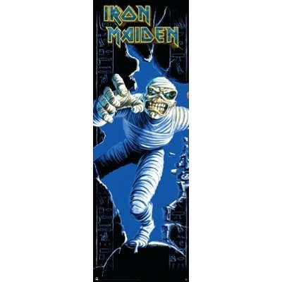 (21x62) Iron Maiden Mummy Music Poster
