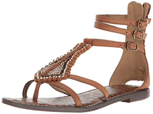 Sam Edelman Women's Garner Ankle-Strap Sandal - Saddle - ...