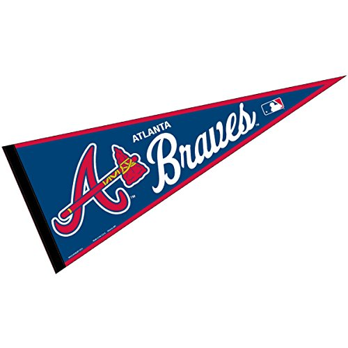 Atlanta Braves Flag (Atlanta Braves MLB Large Pennant)