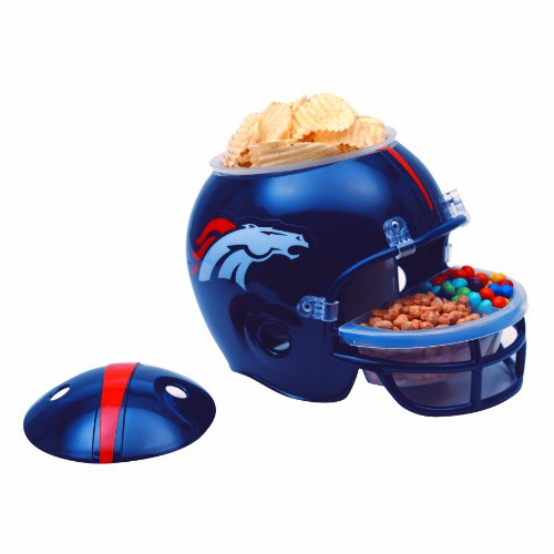 NFL Denver Broncos Snack Helmet (Denver Futon)