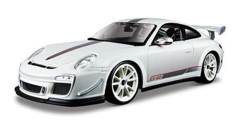 - Bburago New 1:18 Collection - White Porsche 911 GT3 RS 4.0 Diecast Model Car