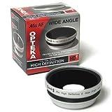 Opteka 0.45x HD2 Wide Angle Lens for Canon VIXIA HF G10, S10, S100, S11, S20, S200, S21, S30, LEGRIA HF S10, S11, S21, XF100, XF105, GL1 and GL2 Digital Video Camera