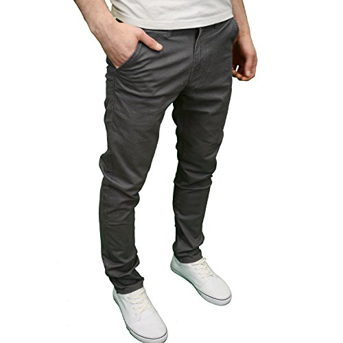 5 Da Grey Fit Jeans nbsp;colori Uomo Chino Enzo In Disponibile Slim Designer Marca Di PqxdOZ
