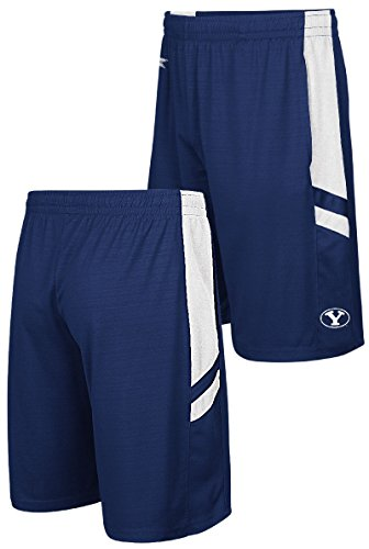 BYU Cougars Blue Setter Synthetic College Shorts (L=34/35)