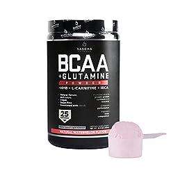 Sascha Fitness BCAA 4:1:1 + Glutamine,HM...