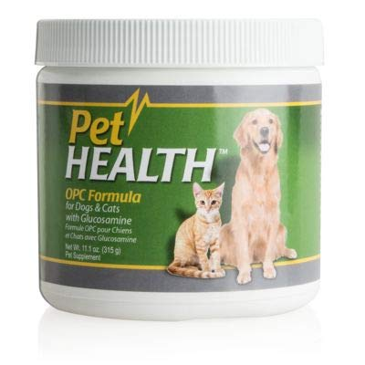 - Pet Health OPC Formula with Glucosamine for Dogs & Cats | Beef Flavor | Maintain Healthy Cholesterol Levels | Healthy Circulation | Joint Flexibility | Market America (90 Servings)