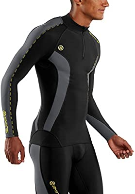 SKINS Dnamic Thermal Top De Compression Manches Longues Col