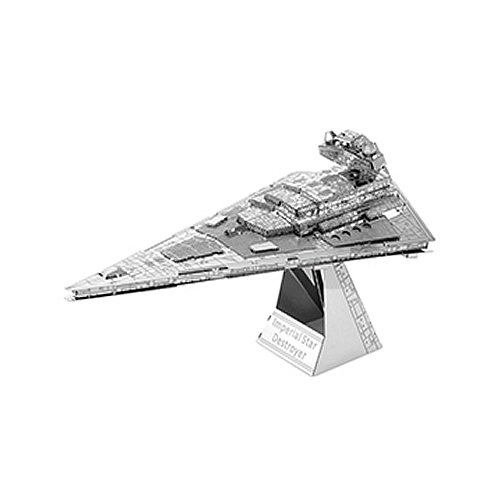 Star Wars Set of 4 Metal Earth 3D Model Kits Destroyer Droid TIE Fighter Fascinations SG/_B00P1G0RZQ/_US Imperial Star Destroyer X-Wing
