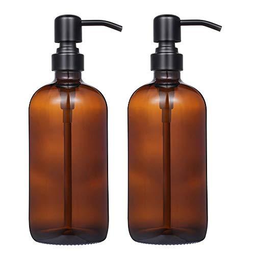 glass apothecary soap dispenser - 4