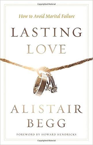 Lasting Love: How to Avoid Marital Failure: Alistair Begg
