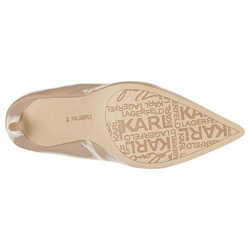 Karl Lagerfeld Manoir Hi Court Shine Damen Schuhe Nude